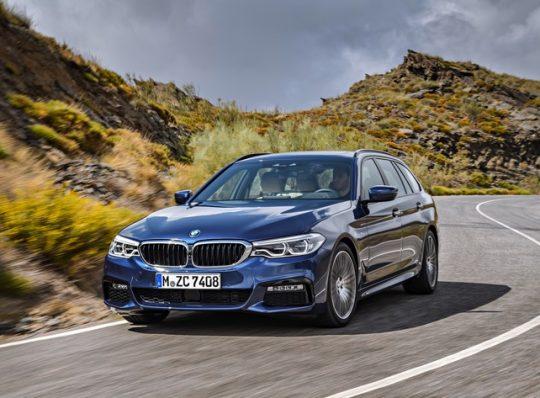 Der neue BMW 5er Touring
