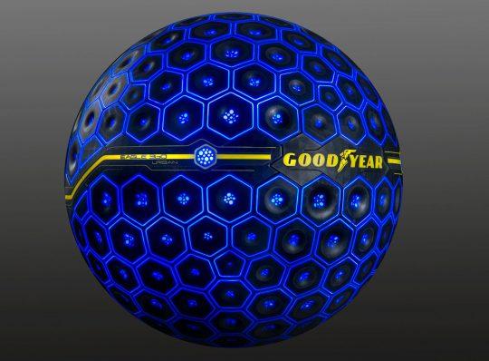 Goodyear Kugelreifen kann denken, fühlen und interagieren