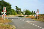 Tipps zur Sicherheit an Bahnübergängen