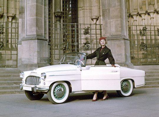 60. Geburtstag für den Vorgänger des SKODA Felicia-Cabriolets